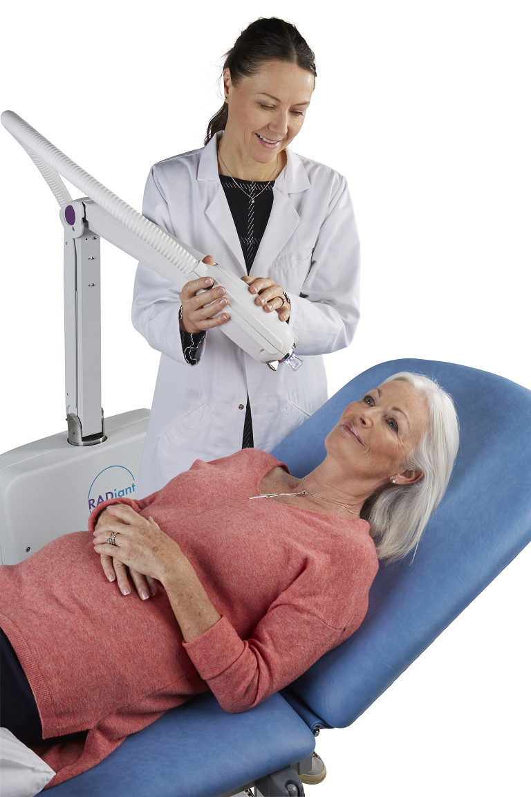 Electronic Brachytherapy for treating skin cancer
